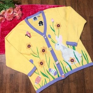 Storybook Knits New Easter Sweater plus Size 1x
